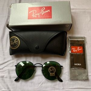 Ray bans round lenses